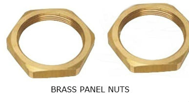 brass_panel_nuts_brass_nuts_hex_panel_nuts