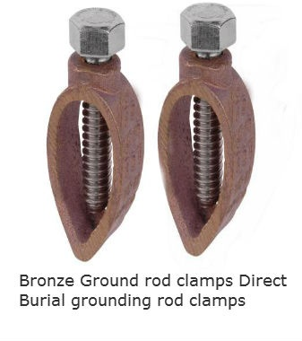 bronze_ground_rod_clamps_direct_burial_grounding_rod_clamps