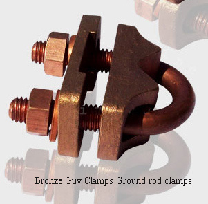 bronze_u_clamps_ground_rod_clamps_guv_rod__grounding_clamps