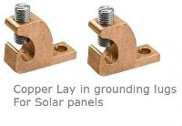 Copper Lay in Lugs for Solar