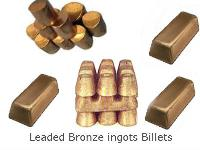 Leaded Bronze Ingots Billets